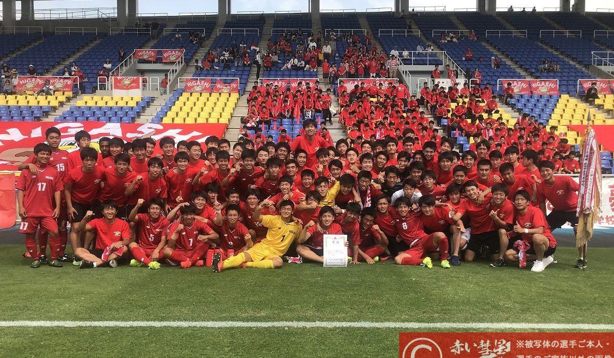 【写真館】平成30年度福岡県高校サッカー大会(決勝)